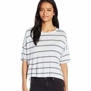 Michelle By Comune Junior's Mingus-Stripe Boxy Tee
